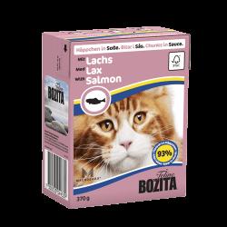 BOZITA FELINE SAUSE SALMON 370GR υγρή τροφή-κονσέρβες γάτας Pet Shop Καλαματα