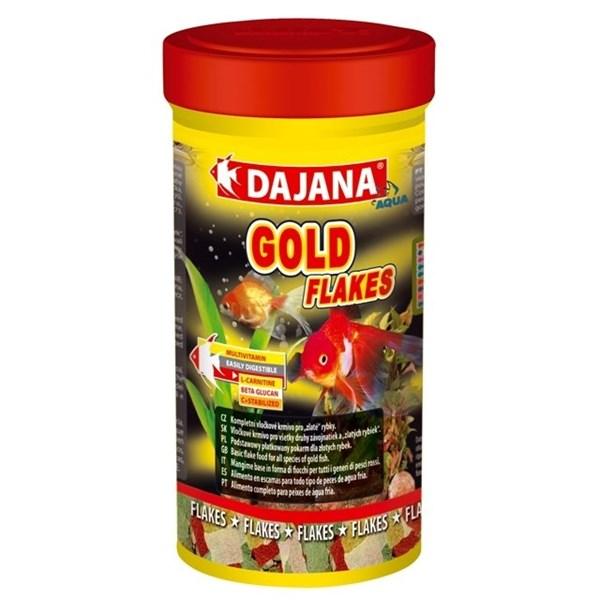 Dajana gold flakes τροφές ψαριών Pet Shop Καλαματα