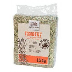 NATURE'S BEST TIMOTHY HAY - 1,5KG