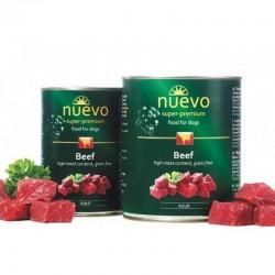 NUEVO  ADULT BEEF 400GR υγρη τροφη - κονσερβεσ Pet Shop Καλαματα