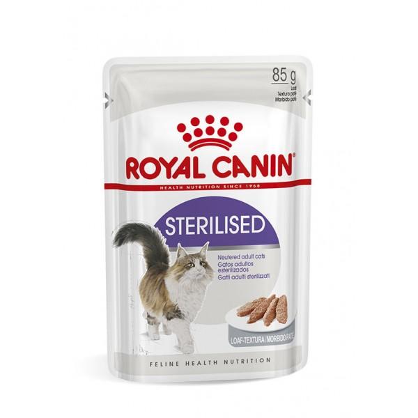 Royal Canin Sterilised Gravy  υγρή τροφή-κονσέρβες γάτας Pet Shop Καλαματα