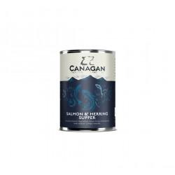 Canagan Can - Salmon & Herring Supper For Dogs 400gr υγρη τροφη - κονσερβεσ Pet Shop Καλαματα