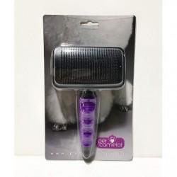 Slicker Brush Self-cleaning Large περιποιηση-υγιεινη Pet Shop Καλαματα