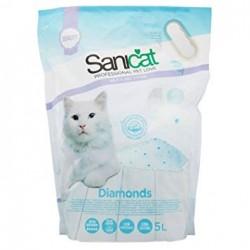Sanicat Diamonds 5 litre άμμοι για γάτα Pet Shop Καλαματα