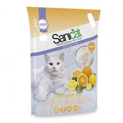 SANICAT DIAMONDS CITRO 5 litre  άμμοι για γάτα Pet Shop Καλαματα